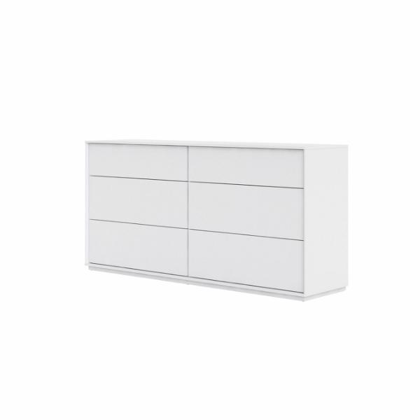 Stockholm Double dresser 6 drawers