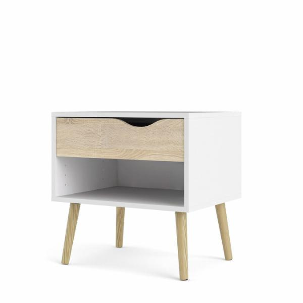 Oslo Nightstand 1 drawer