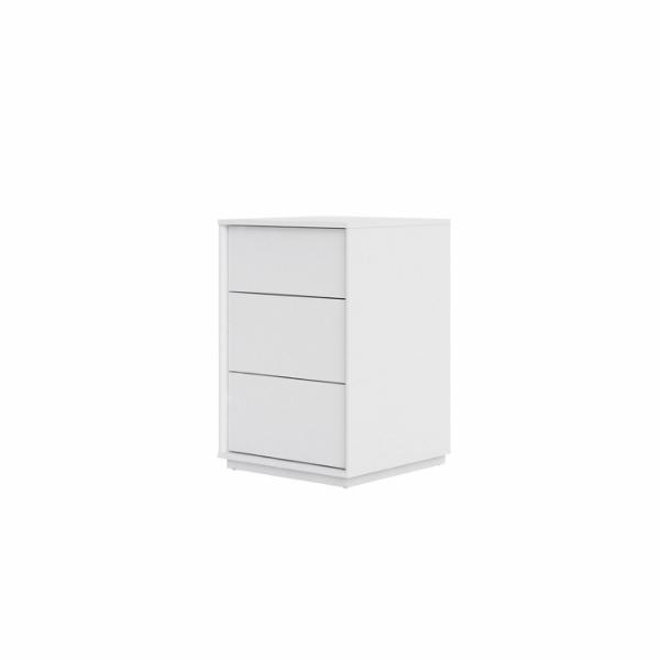 Stockholm Nightstand 3 drawers